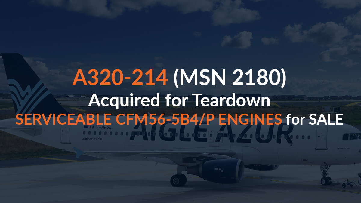 Kellstrom Aerospace Completes Acquisition of A320-214 for Teardown
