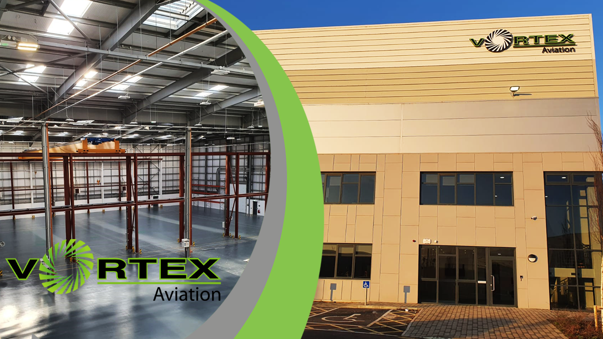 Vortex Aviation Dublin Facility Receives EASA Certification
